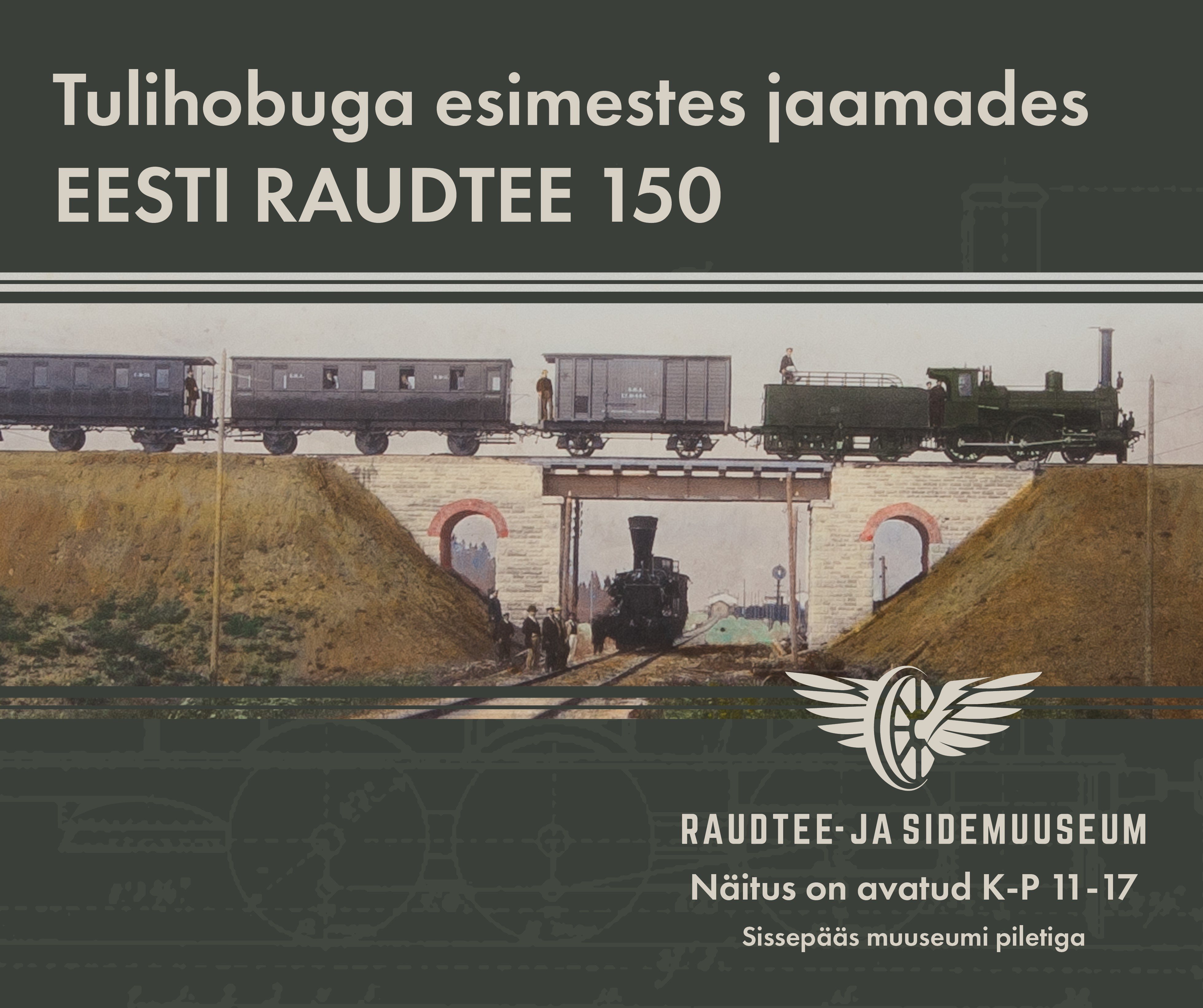 Raudtee- Ja Sidemuuseumis Saab Näha Raudtee Algusaastaid Tutvustavat Näitust